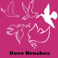 Dove Brushes by remygraphics