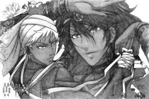 Agni and Soma by Neon-Cheshire-Cat