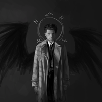 Castiel | Fallen Angel by SunflowerDaemon