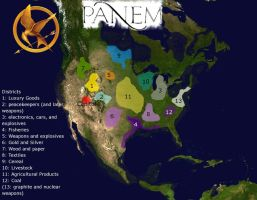 Map of Panem _  Hunger Games by guido1993