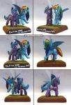 MLP:FIM Radiant Hope and Rainbow Dash Multi by uBrosis