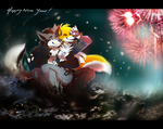 Happy New Year 2012 by SilverDeni