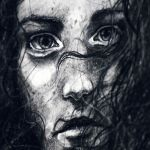 Charcoal study, detail by jane-beata