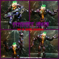 Symbiote JOKER Custom Figure by symbiote-x