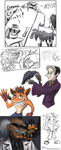Crash Bandicoot, Cedric and Wily by JenL