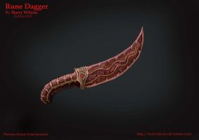 Rune Dagger by Harry-the-Fox