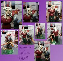 World of Warcraft Cake Toppers by Rindalia