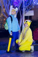 Finn and Jake - Best friends ! by Sweepzebrine