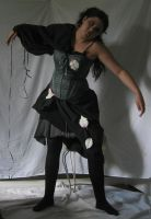 Mechanical Masquerade-Green005 by TrapDoor-Stock