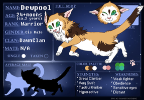 Dewpool of DawnClan by ssleepy