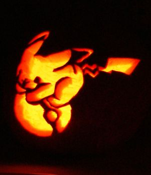 Pika-Pumpkin! by robyriker