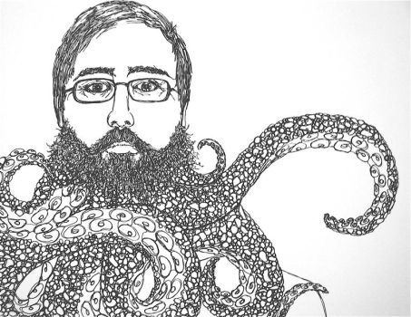 portrait with tentacles by jonescrusher