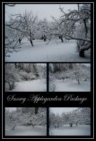 Snowy Applegarden Package by Eirian-stock