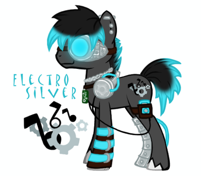 Electro Silver by SildrasArt
