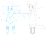 My new OCs by GwenCupcakes