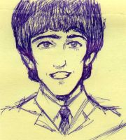 George doodle by ayumi58