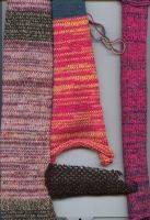 Hand Made Knit Swatches by Jaxxys-Stock