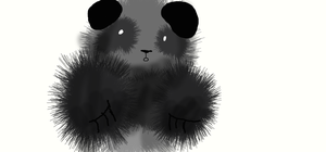 Panda :P by Moracalle
