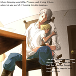 Prussia and Little Germany Head Canon by Mikufan84