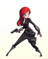 Black Widow by chikinrise
