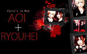 Aoi x Ryouhei - Cuties In Red by Crimson-Truth