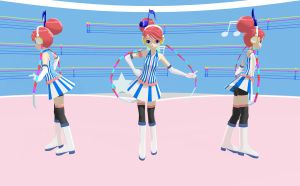 MMD Newcomer - Akikoroid-chan by Pokeluver223