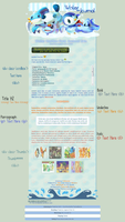 :Poke: Water Free Journal Skin by Hinachuu