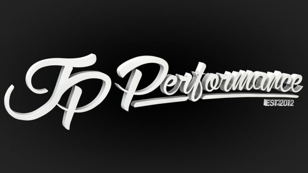 JP Performance - 3D Logo by Dracu-Teufel666