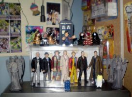 Doctor Who Stuff by CyberDrone