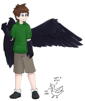 Birbman (and Ron) by Burfabutt