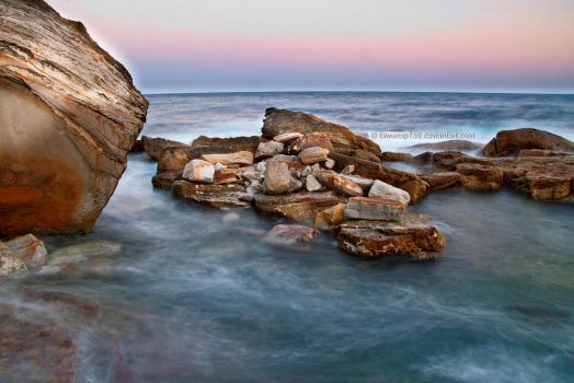 Coogee Rocks by tawunap159