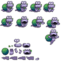 Escargoon sprites by Deitz94