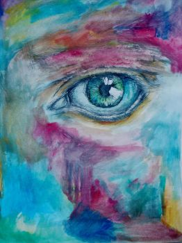 Abstract eye thingy by QuirinusQuirrell