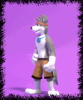 Commission: Wolf-Pup-TK(Part 2 of 2) by SmashingRenders