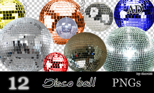 Disco Ball PNGs by Sharah11