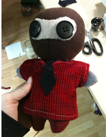 Spy Doll by CraftingSession