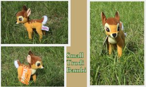 Trudi Bambi plush by Laurel-Lion