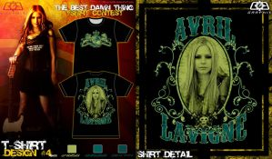 Avril Tshirt contest sub. 4-2 by C0G-Graph1x