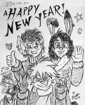 Happy New Year! by ShimaFox