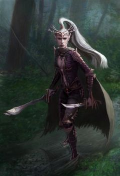 Assassin Elf by JeffLeeJohnson