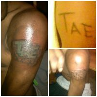 One of my first it was a cover up of someone elses by BrandedSavi