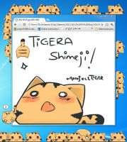 Tigera Shimeji by projectTiGER