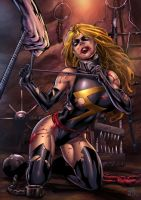 The Shackle 2: Ms. Marvel by andrewr255