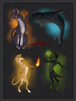 Adoptables - The Experiments by Mikaley