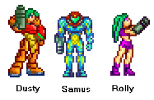 S.S.S. (Super Samus Siblings) by Anthony-the-dreamer