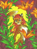 Leopard Lily by Peachfuzz