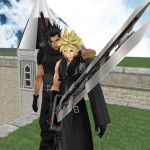 Zack and Cloud by IntenseObservation