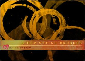 Cup Stain Brushes by HeartDriven