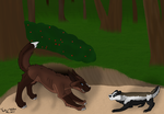 ( VE ) [ToY] Gosh dang badgers by Dorky-Wolfen