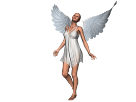 STOCK PNG angel 3 by MaureenOlder